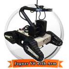 Jaguar V6 with Manipulator Arm Mobile